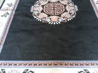 8' x 11' Belgian rug in very good condition. Compare to