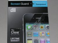 Belkin Transparent Screen Guard for iPhone 4 - 4S $10