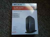 I have a new, unopened Belkin N300 Wireless Router I