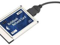 The Belkin Notebook Network Card for PC computers is