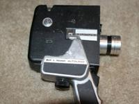 Vintage Bell and Howell Autoload Zoom Reflex 8mm
