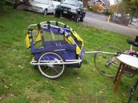 LIKE NEW CONDITION BELL BIKE CART LOCATED AT 210 W13TH