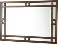 Timeless and sophisticated, the Bella Cera Wall Mirror