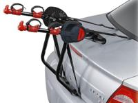 Deluxe 2-Bike Carrier: Carries one or two bikes