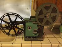 Very well maintained Bell & Howell 1585 16mm long-throw