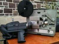 Bell & Howell 80's ? projector and camera complete with