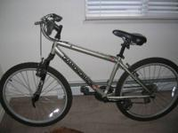 This is a magnesium bike trainer in good condition,