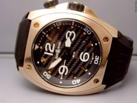 Stunning 18K Pink Gold Bell & Ross BR02 new with box