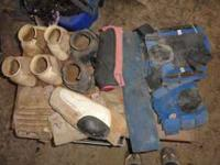 $5 for red splints Prefesional choice skid boots $30,