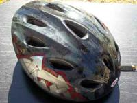 I have a Youth Size Bell Brand Bicycle Helmet. Good