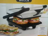 Bella Panini Maker from Macy's.great for makng