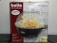 Bella kitchen popcorn maker. excellent condition.