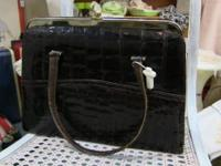 Incredible, rare, large handbag or purse by Bellestone.