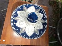 Very nice Sombrero in a rich dark blue velvet with
