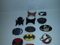 I have 14 belt buckles that varies and shapes and sizes
