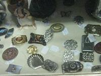 Belt buckles range in price from $1-$25 Picture 1: $1