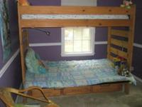 I have for sale a very nice Futon with twin size bunk
