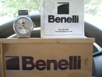 this is a rare BENELLI WATCH that i won at a DU banquet