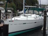 The Beneteau 373 was designed equally for excellent