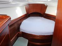 Circadian II has a 2 stateroom layout with a cherry