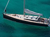 Harmony Escape is a 2014 Beneteau Sense 55 Lying in