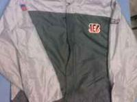 For sale is a Bengals Parka size youth xl in very good