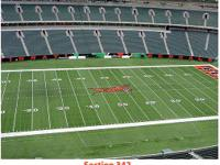 2 tickets available:  Section 342, Row 19, Seats 3-4
