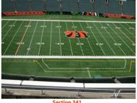 2 tickets available:  Section 341, Row 19, Seats 19-20