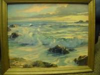 Seascape - Coastal View, probably inspired by