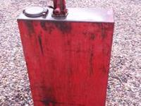 This oil tank is in great used condition and pumps