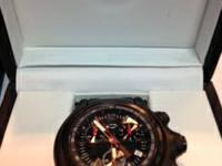 Oakley Holeshot watch in box with papers, nearly new