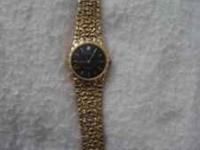 benrus watch with diamond chips. like new! call