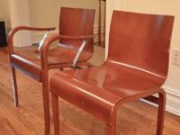 Originally $400 each, these are designer chairs