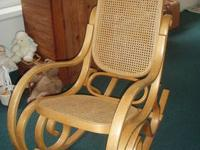 Bent Oak Rocker, 31 years in our family. Used for