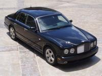 This 2006 Bentley Arnage 4dr T Sedan features a 6.8L V8