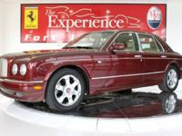 2005 Bentley Arnage RSunset exterior over a beautiful