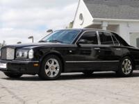 2001 Bentley Arnage Red Label   *Black on English Tan
