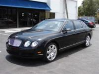 This 2008 Bentley Continental Flying Spur 4dr Mulliner