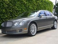 This 2009 Bentley Continental Flying Spur 4dr 4dr Sdn