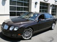 This is a Bentley, Continental Flying Spur Speed for