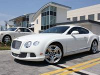This 2012 Bentley CONTINENTAL GT COUPE AWD Coupe
