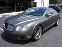 This 2008 Bentley Continental GT Speed 2dr AWD Coupe