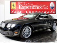 2008 Bentley Continental GT SpeedFerrari-Maserati of