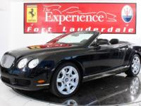 This is a Bentley Continental GTC for sale by