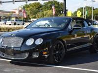 This 2010 Bentley Continental GTC Speed 2dr Continental