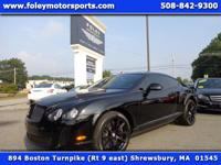 2011 BENTLEY Continental Supersports Coupe finished in