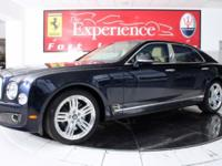 This is a Bentley Mulsanne for sale by Ferrari-Maserati