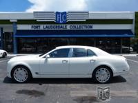 This 2011 Bentley Mulsanne 4dr Premiere features a 6.8L