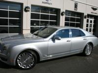 This is a Bentley Mulsanne for sale by Miller