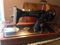 I am selling an incredible electrical Singer Sewing